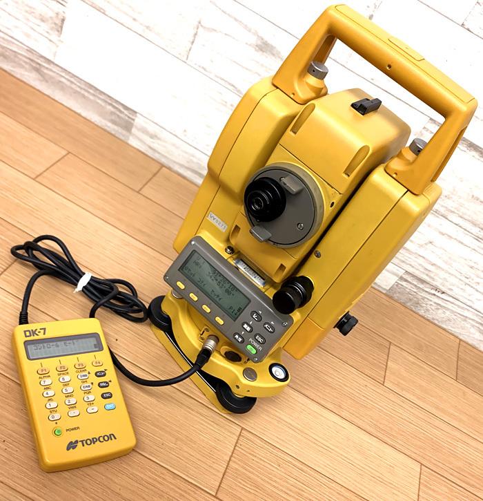 ■TOPCON GPT-2007F トータルステーション DK-7 充電器 トプコン■_画像2