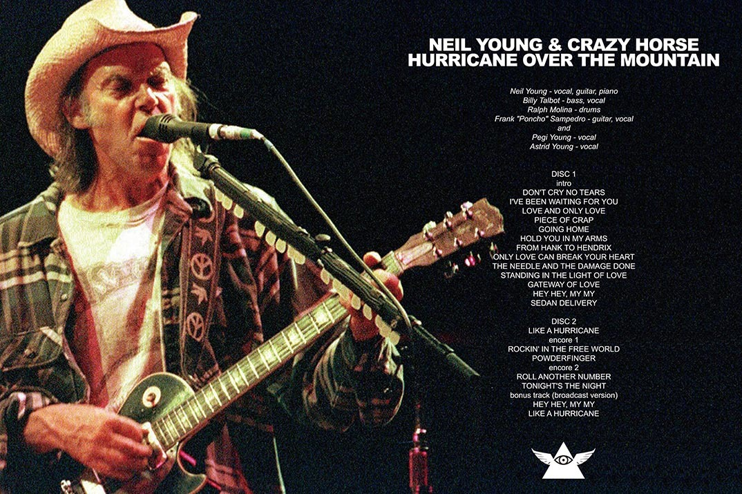 NEIL YOUNG & CRAZY HORSE / HURRICANE OVER THE MOUNTAIN - UP GRADE EDITION フジロック 2001 新品プレス盤2DVD_画像4
