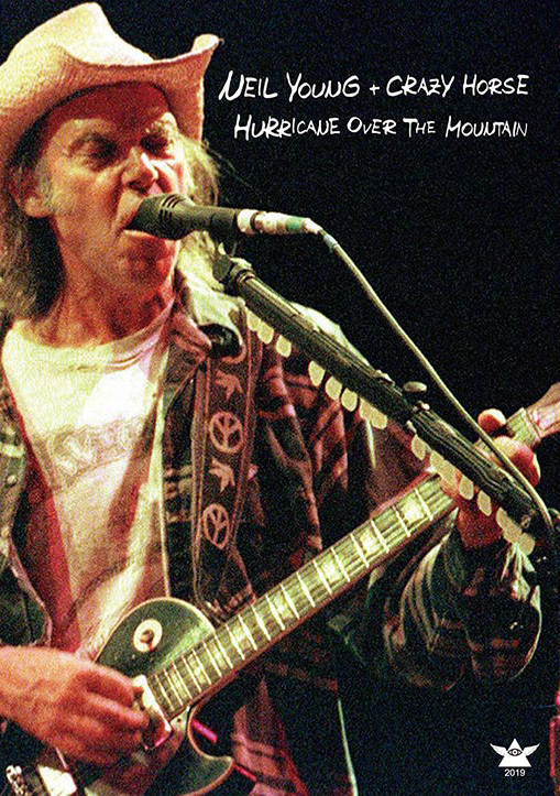 NEIL YOUNG & CRAZY HORSE / HURRICANE OVER THE MOUNTAIN - UP GRADE EDITION フジロック 2001 新品プレス盤2DVD_画像1