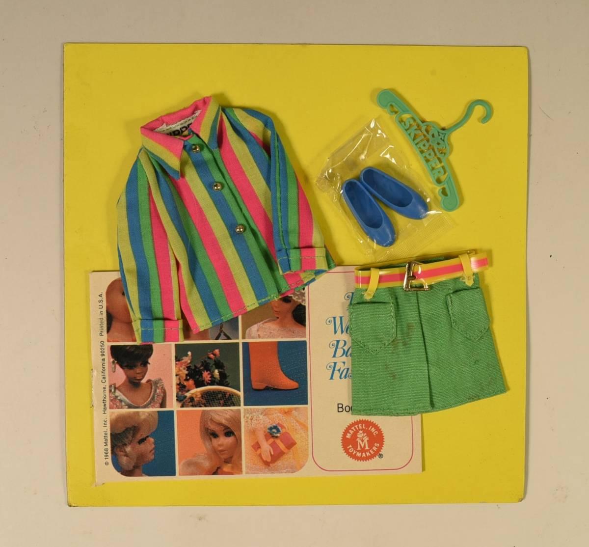 Barbie・Skipper洋服 「Hopscotchins」1969年 #1968・Vintage・NRFB