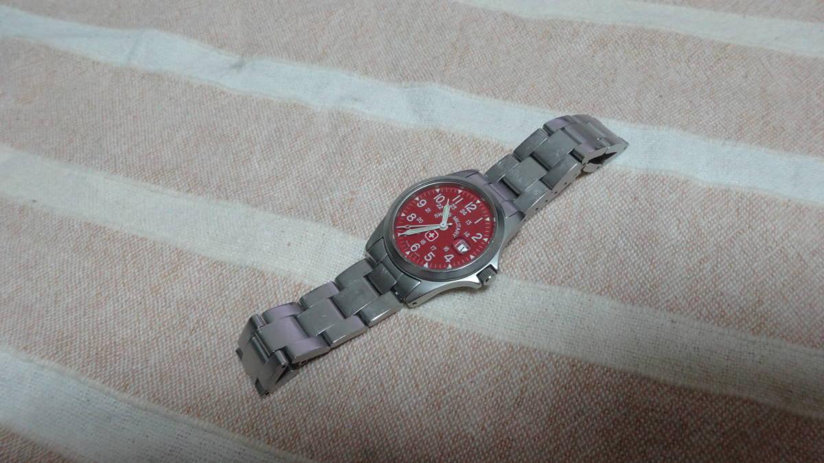 SWISS MILITARY 腕時計 ボーイズ レディース 6-613 6-713 スイスミリタリー