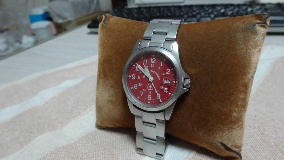 SWISS MILITARY 腕時計 ボーイズ レディース 6-613 6-713 スイスミリタリー_画像3