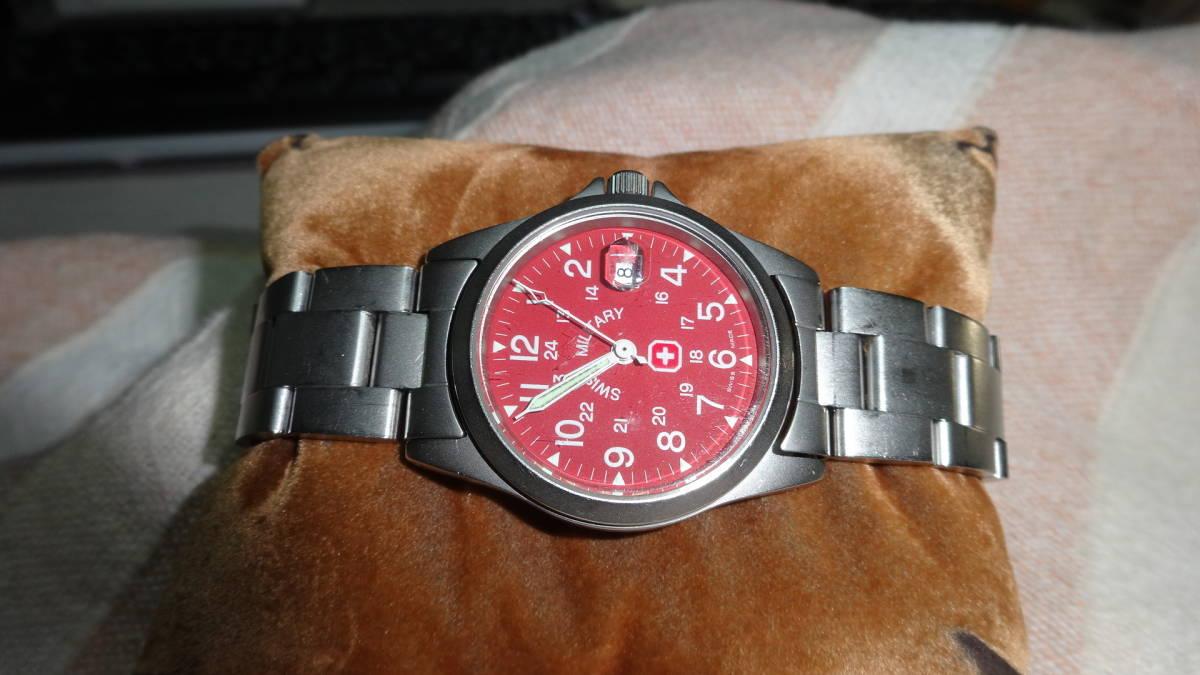 SWISS MILITARY 腕時計 ボーイズ レディース 6-613 6-713 スイスミリタリー_画像4