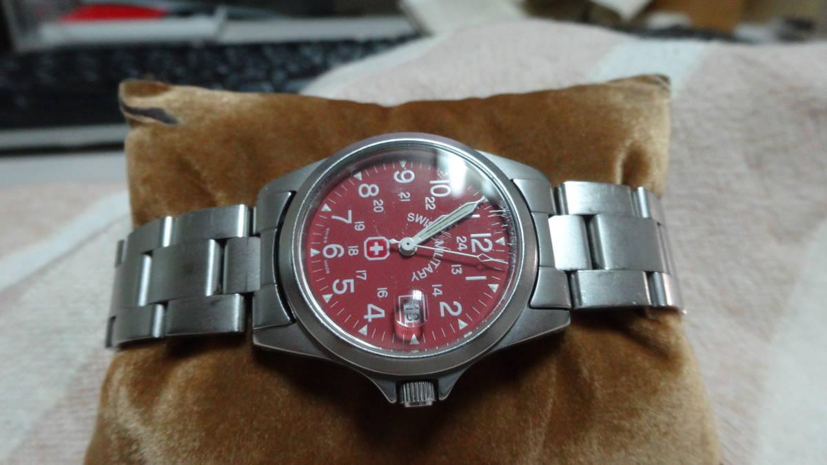 SWISS MILITARY 腕時計 ボーイズ レディース 6-613 6-713 スイスミリタリー_画像5