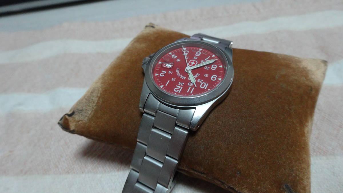 SWISS MILITARY 腕時計 ボーイズ レディース 6-613 6-713 スイスミリタリー_画像7