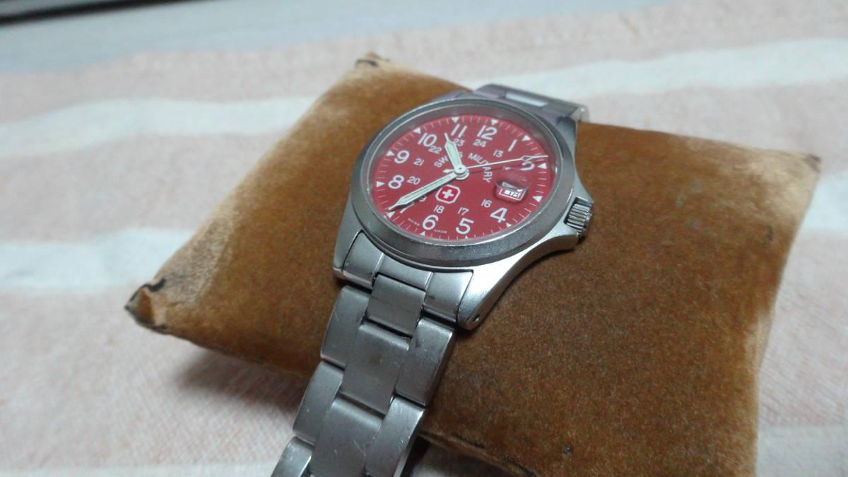 SWISS MILITARY 腕時計 ボーイズ レディース 6-613 6-713 スイスミリタリー_画像6
