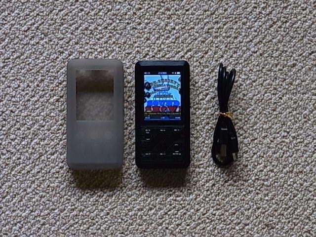 FiiO X3 初代 ハイレゾ 高音質 デジタルオーディオプレーヤー 送料210 使用少_画像1