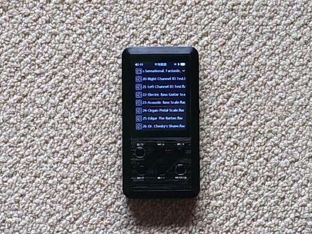 FiiO X3 初代 ハイレゾ 高音質 デジタルオーディオプレーヤー 送料210 使用少_画像2