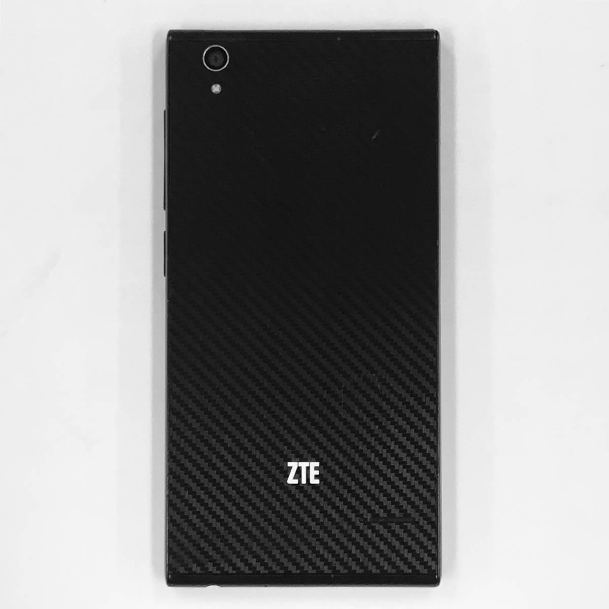 FP050543_(312)【送料無料】ZTE/Blade Vec 4G/ブラック/16GB/Wi-Fi+SIMモデル/SIMフリー/android/スマートフォン/スマホ【中古】_画像5