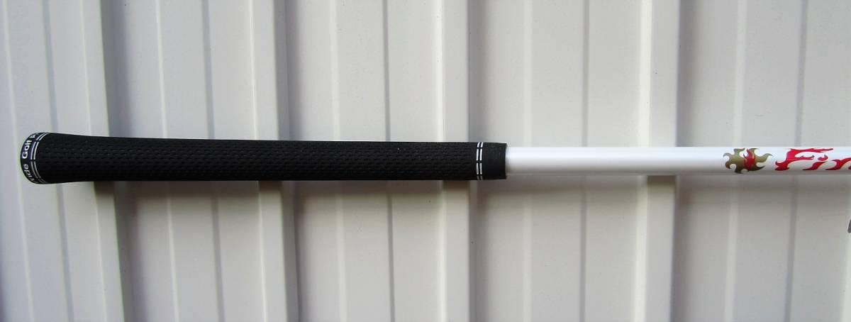 キャロウェイ新品スリーブ付。ファイアーエクスプレス MAX WBQ 55-SR 44.50インチ中古シャフト。グリップは新品のベルベットラバー360/60R_画像3