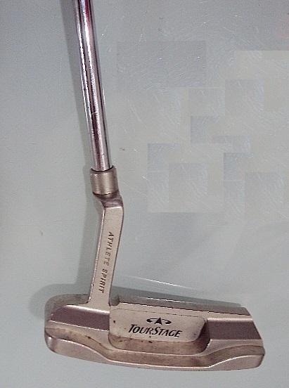 お買い得S♪♪TourStage PV-1 Forged ピン型 パター 33インチ Used _画像1