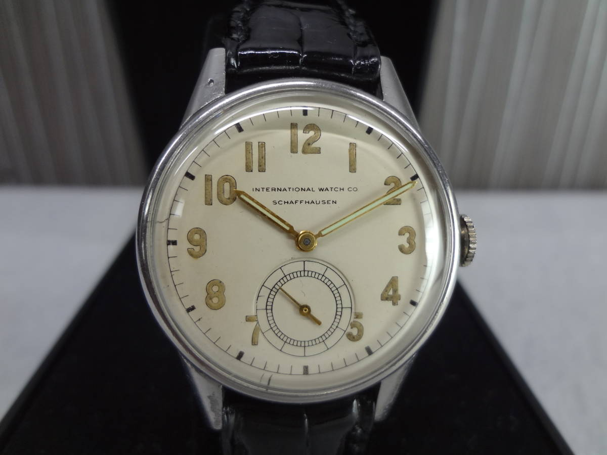 ◆アンティーク時計◆ IWC CHAFFHAUSEN シャフハウゼン メンズ 手巻き スモールセコ インターナショナル ウォッチ カンパニー M-04039