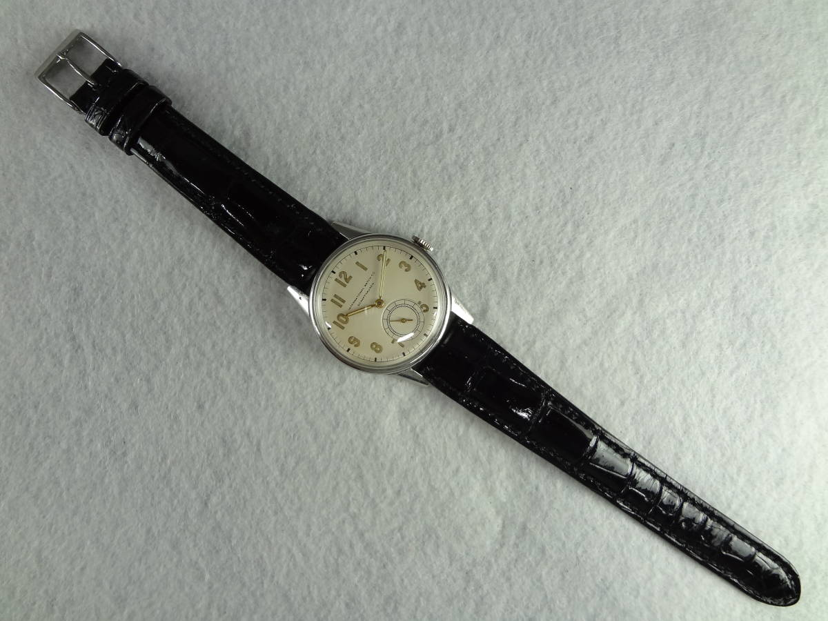 ◆アンティーク時計◆ IWC CHAFFHAUSEN シャフハウゼン メンズ 手巻き スモールセコ インターナショナル ウォッチ カンパニー M-04039_画像5