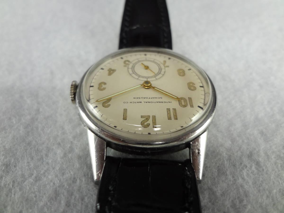 ◆アンティーク時計◆ IWC CHAFFHAUSEN シャフハウゼン メンズ 手巻き スモールセコ インターナショナル ウォッチ カンパニー M-04039_画像7
