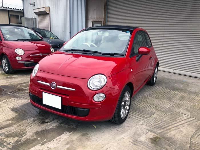 ★売切★ H25 フィアット 500C オープンカー 車検令和2年4月まで