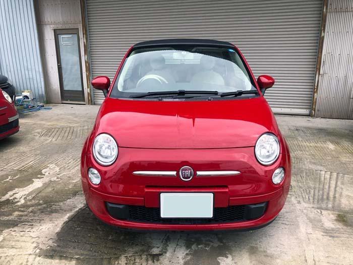 ★売切★ H25 フィアット 500C オープンカー 車検令和2年4月まで_画像2