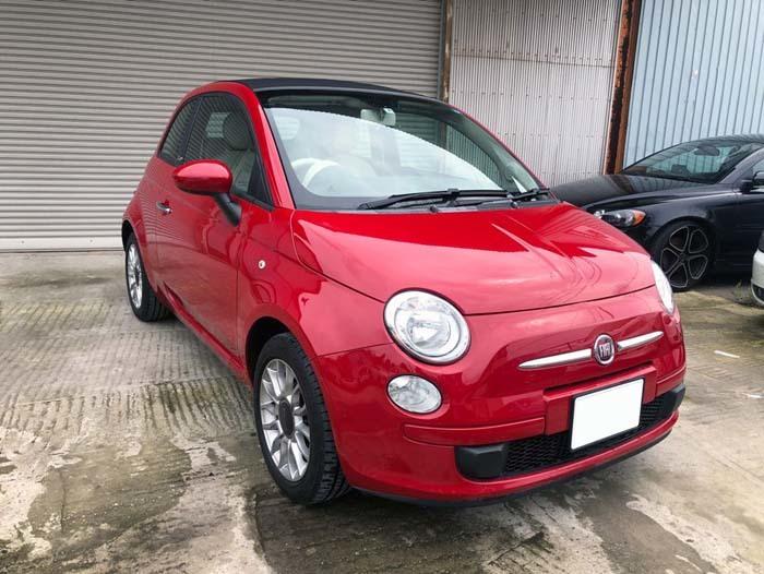 ★売切★ H25 フィアット 500C オープンカー 車検令和2年4月まで_画像3