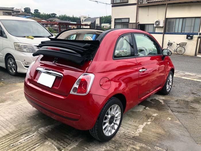 ★売切★ H25 フィアット 500C オープンカー 車検令和2年4月まで_画像7