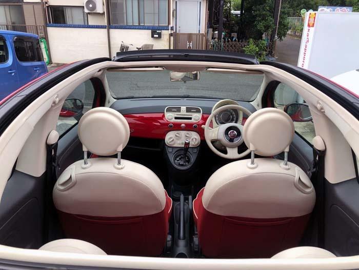 ★売切★ H25 フィアット 500C オープンカー 車検令和2年4月まで_画像10