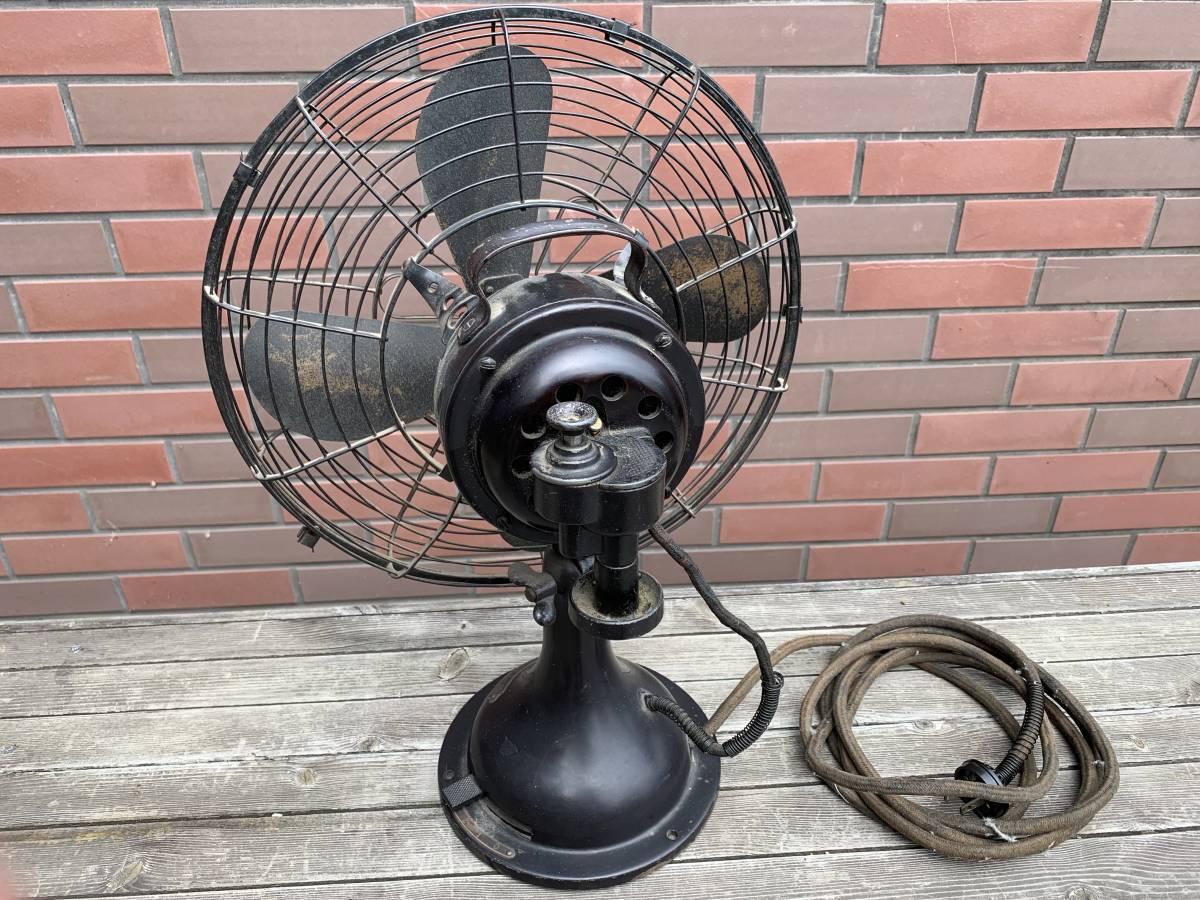 古い三菱電機・電気扇/扇風機/大正~昭和初期頃/稼動品・ジャンク扱い_画像5
