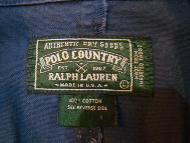 ~90s USA製 Ralph Lauren POLO COUNTRY Pコート ショールカラーコート L ネイビー ジャケット ポロカントリー ラルフローレン_画像4