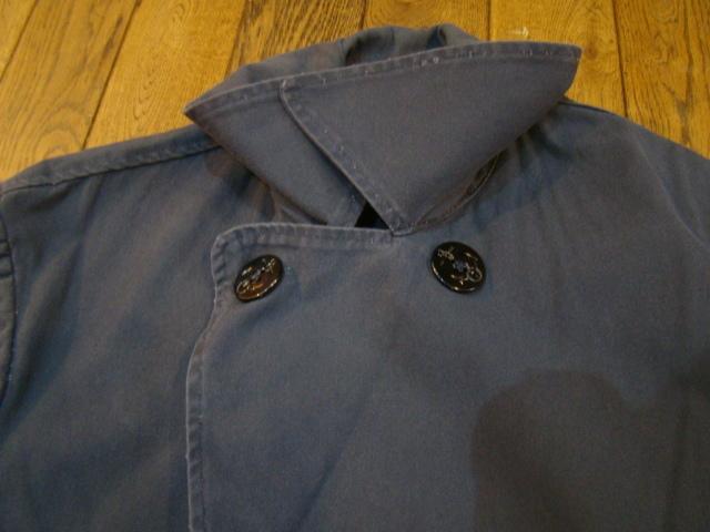 ~90s USA製 Ralph Lauren POLO COUNTRY Pコート ショールカラーコート L ネイビー ジャケット ポロカントリー ラルフローレン_画像6