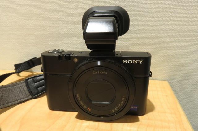 [20896] SONY ソニー DSC-RX100M2 サイバーショット デジタルスチルカメラ ブラック バッテリー無しのため動作未確認
