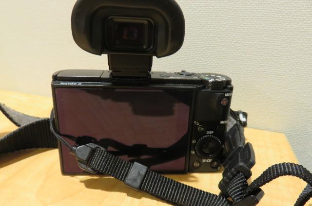 [20896] SONY ソニー DSC-RX100M2 サイバーショット デジタルスチルカメラ ブラック バッテリー無しのため動作未確認_画像3