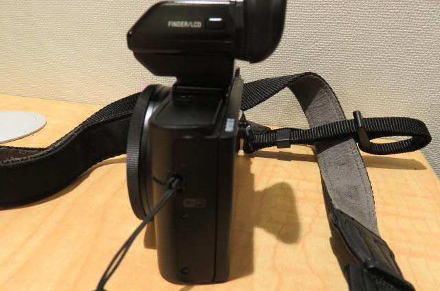 [20896] SONY ソニー DSC-RX100M2 サイバーショット デジタルスチルカメラ ブラック バッテリー無しのため動作未確認_画像5