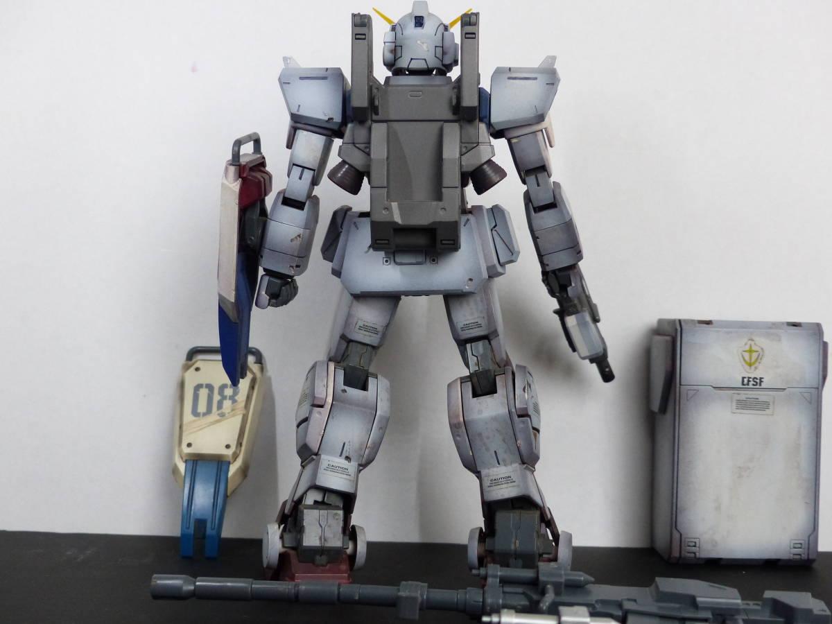 ★ MG 全塗装 陸戦型ガンダム 08小隊 1/100 完成品 ジャンク ガンダム ガンプラ _画像5