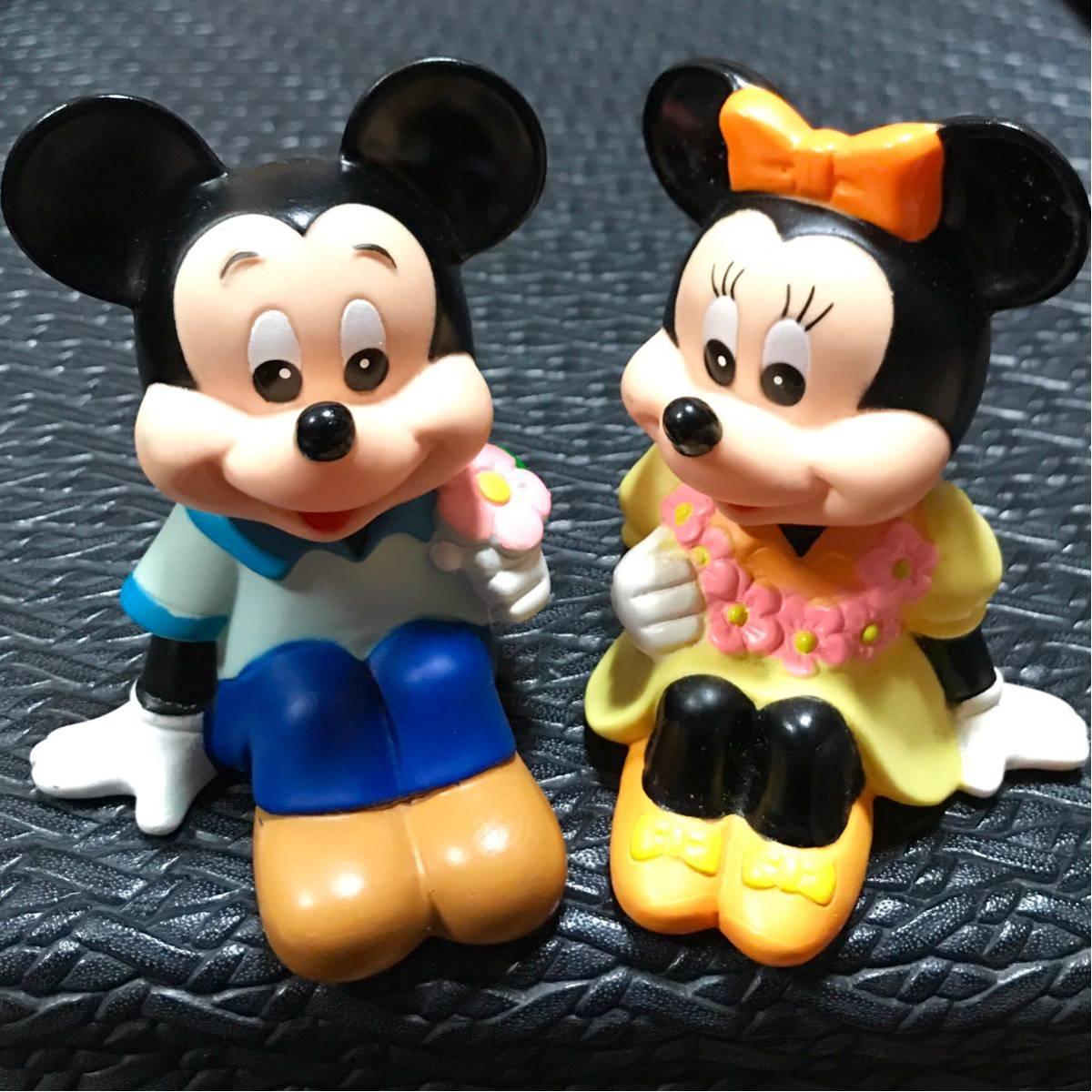 三菱銀行 ☆ Mitsubishi Bank ☆ ミッキーマウス ☆ ミニーマウス ☆ 貯金箱 ☆ 非売品 ☆ 限定品 ☆ 中古品 ☆ フィギュア ☆ ノベルティ_画像1