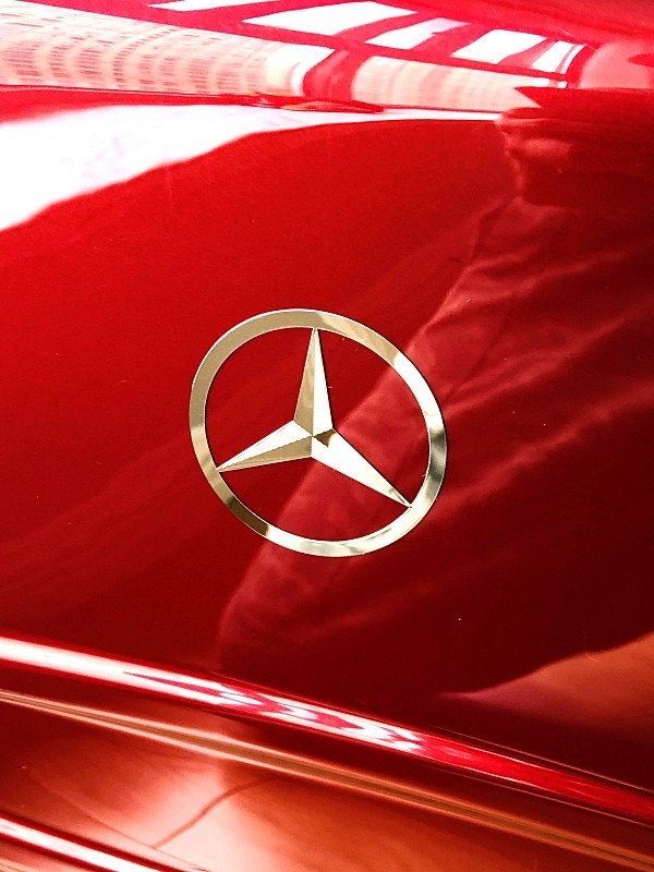 最高級★Mercedes-Benz ※アルミフレーム・軽量/静音・オリジナル・スーツケース/キャリーケース/機内持ち込可/20インチ/赤_画像6