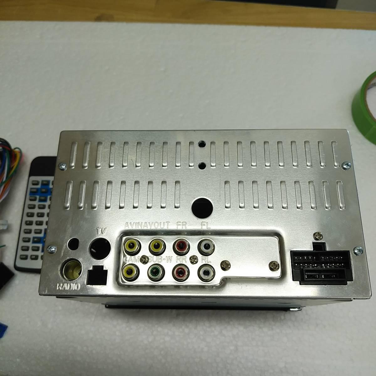 □ENON イーオンオン D2119J 6.5インチ DVDプレーヤー フルタッチ静電式車載マルチメディア USB/SDカードスロット搭載_画像5