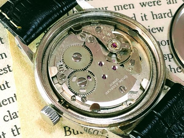 ■極上美品!■高級ブランド/ボーム&メルシエ【BAUME & MERCIER】1960'sビンテージ/メンズ/手巻き/腕時計/アンティークウォッチ/OH済み_画像8