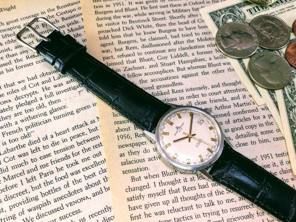 ■極上美品!■高級ブランド/ボーム&メルシエ【BAUME & MERCIER】1960'sビンテージ/メンズ/手巻き/腕時計/アンティークウォッチ/OH済み_画像6
