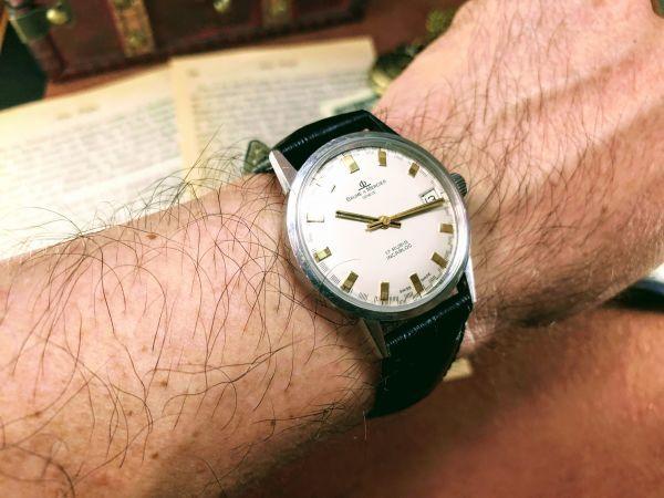 ■極上美品!■高級ブランド/ボーム&メルシエ【BAUME & MERCIER】1960'sビンテージ/メンズ/手巻き/腕時計/アンティークウォッチ/OH済み_画像10