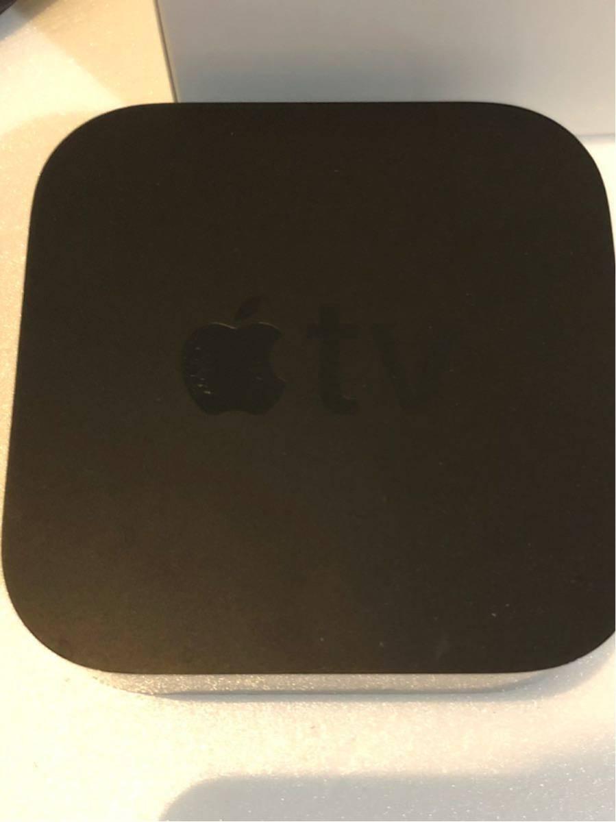 《Apple TV》4K 32GB MQD22J/A 第5世代 アップル ティービー テレビ マック MacBook 映画 プロジェクター 中古 美品 コード付き_画像5