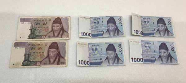 古札 外国紙幣 おまとめ アメリカ シンガポール 韓国 大日本帝国政府 など_画像4