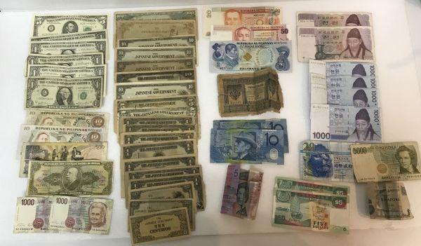 古札 外国紙幣 おまとめ アメリカ シンガポール 韓国 大日本帝国政府 など