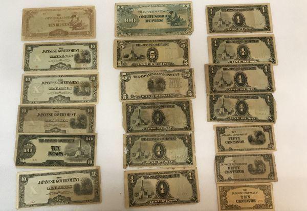 古札 外国紙幣 おまとめ アメリカ シンガポール 韓国 大日本帝国政府 など_画像3