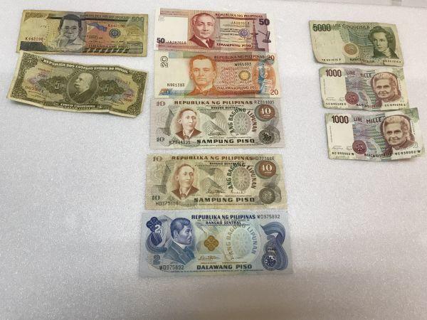 古札 外国紙幣 おまとめ アメリカ シンガポール 韓国 大日本帝国政府 など_画像5