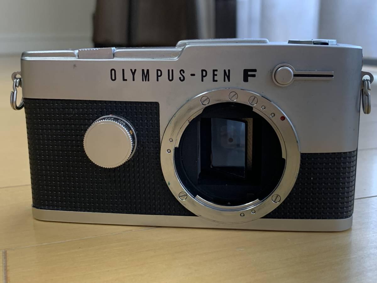 オリンパス OLYMPUS PEN-FT・シャッター動作・レンズにカビ・ジャンク_画像5
