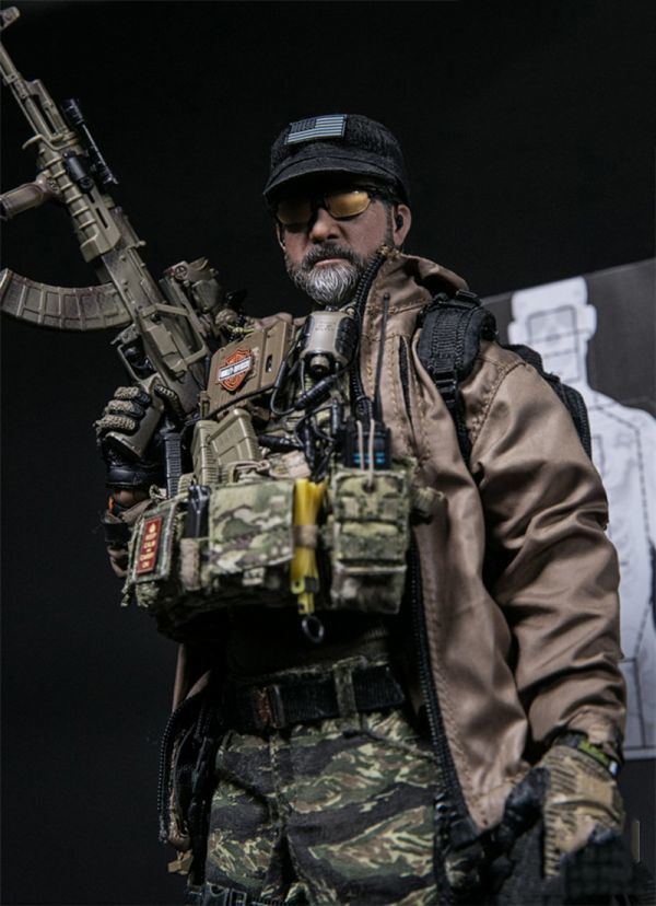 1//6 DAM DAMTOYS PMSCS Contractor In Syria Tactical Jacket