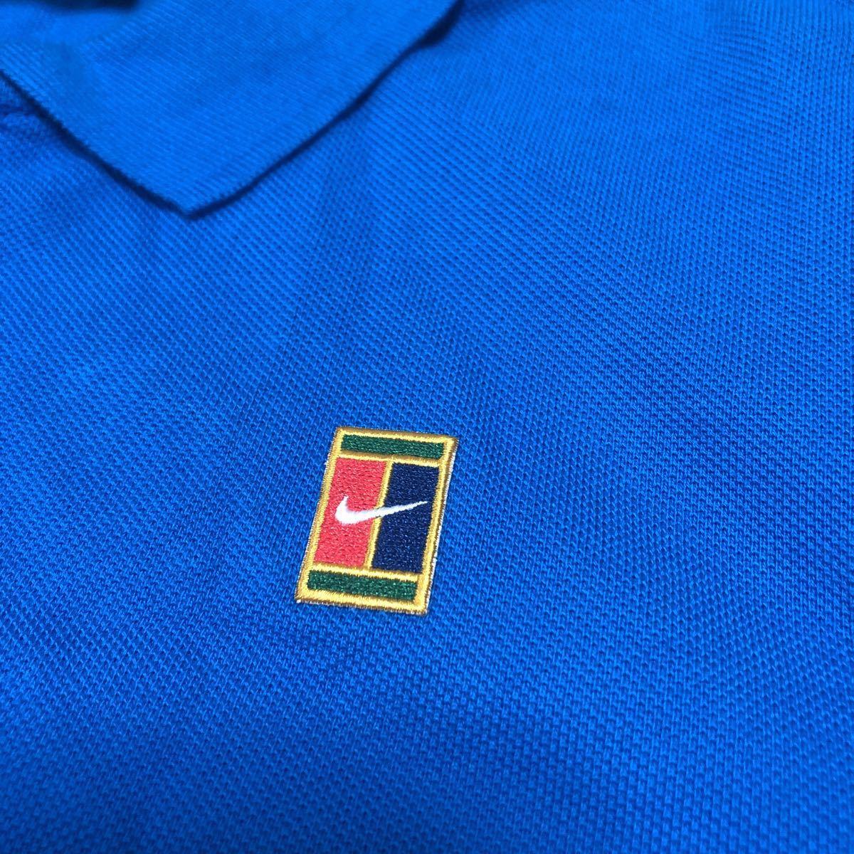 新品 NIKE tennis ナイキ テニス コートロゴ ポロシャツ メンズUSサイズXS 日本サイズS スリムフィット_画像3