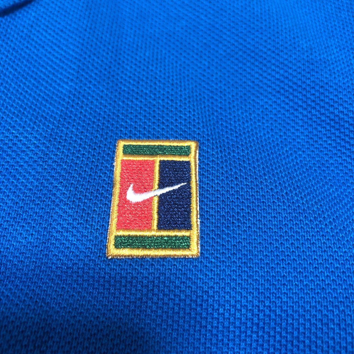新品 NIKE tennis ナイキ テニス コートロゴ ポロシャツ メンズUSサイズXS 日本サイズS スリムフィット_画像6