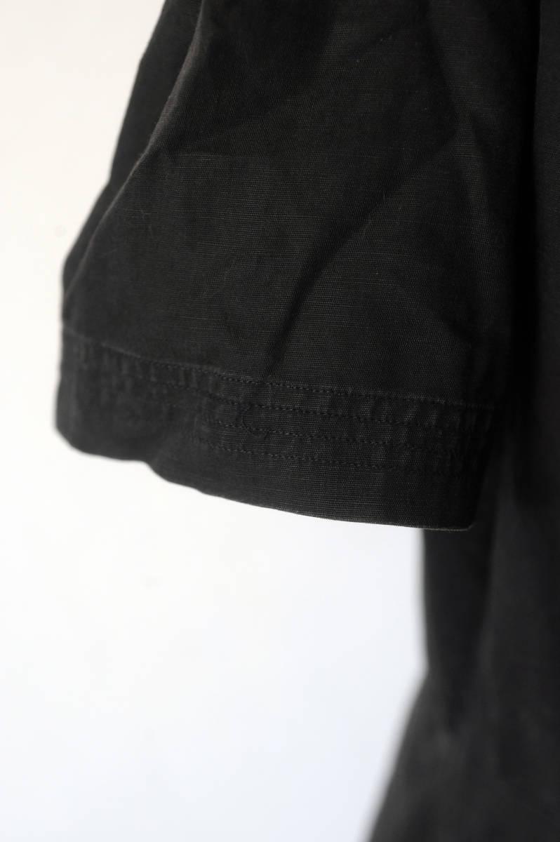 フランス ヴィンテージ 1930's ブラックコットンリネンワークブラウス レアディティール 20s 30s 40s ジャケット アンティーク 送料込_画像4
