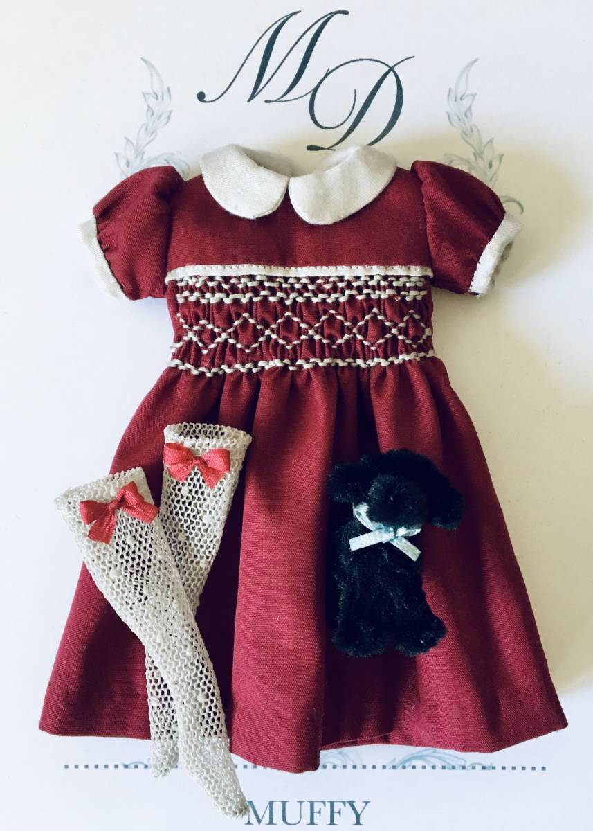 ***Muffy Doll's Clothe*** no.15. 22cmドール用アウトフィット_画像2