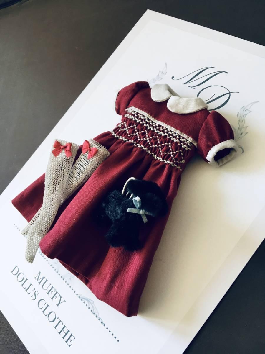 ***Muffy Doll's Clothe*** no.15. 22cmドール用アウトフィット
