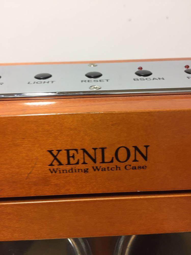 XENLON 時計ケース 【 EPW-036 】 シェンロン Winding Watch Case インテリア カギ欠品_画像5