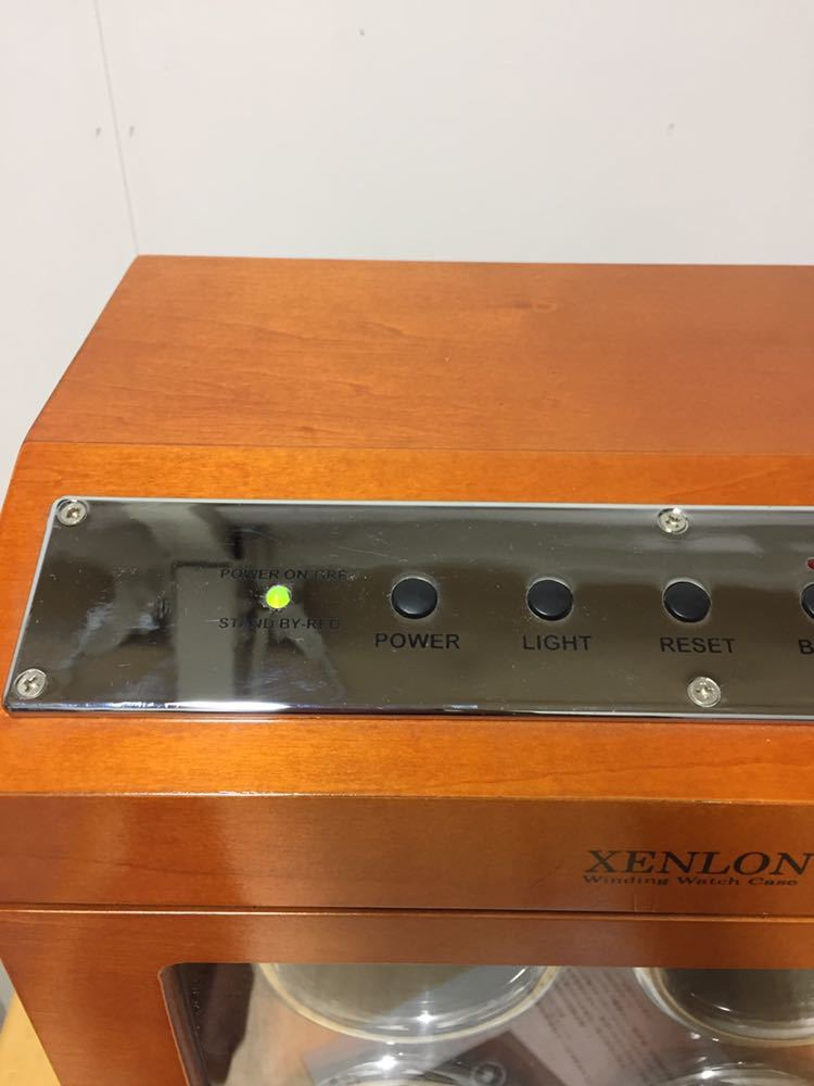 XENLON 時計ケース 【 EPW-036 】 シェンロン Winding Watch Case インテリア カギ欠品_画像2